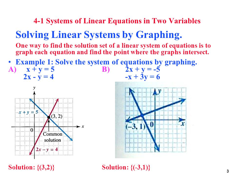 system of linear equation How can the answer be improved.
