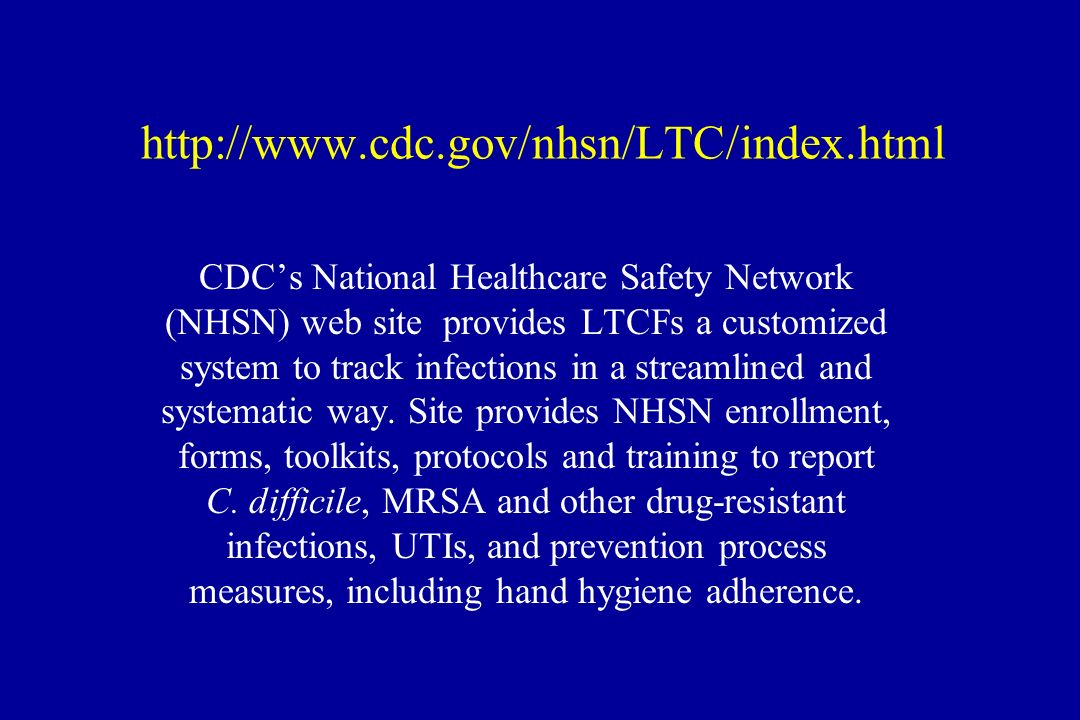 Update On Revised Mcgeer Criteria Clostridium Difficile