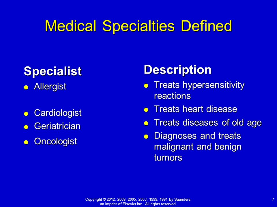 Medical Specialists and Case Reports - ppt video online download