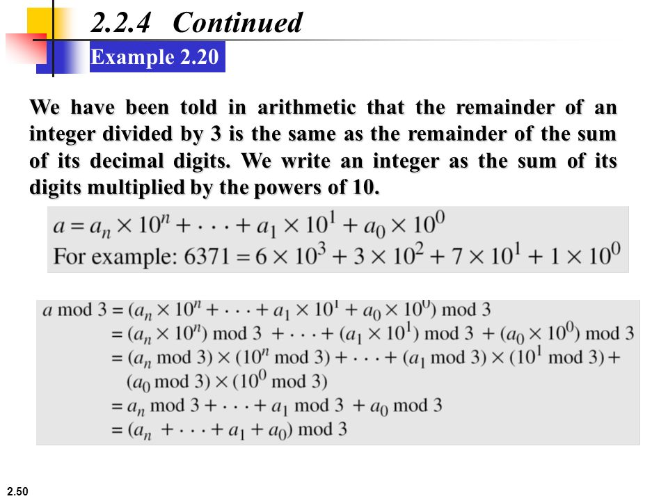 how to find remainder using modulo