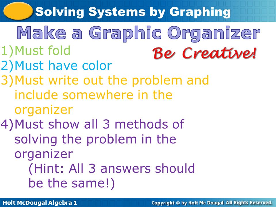 Make a Graphic Organizer