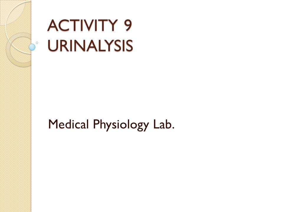Medical Physiology Lab. - ppt video online download