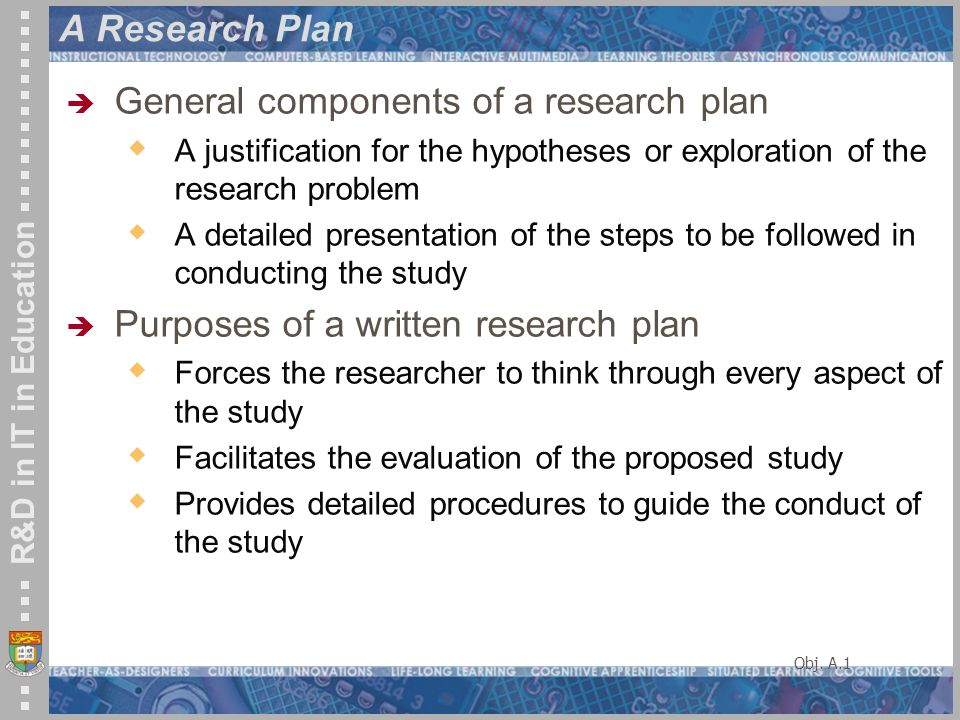 Developing Research Plan  Quantitative  Ppt Video Online Download