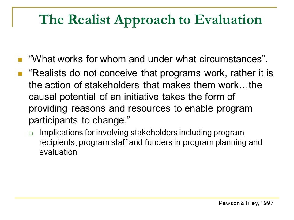 Program Evaluation In Health Care - Ppt Video Online Download