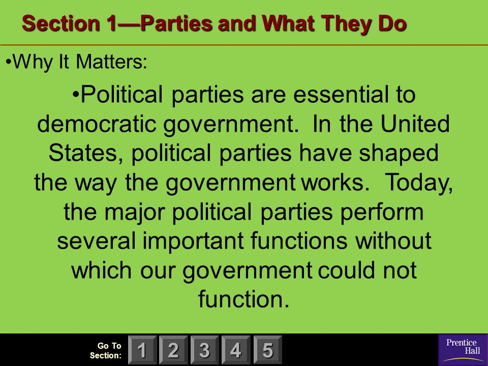 are political parties essential or detrimental An important aspect of the struggle for power between political parties is the  financing of  a single adverse vote can result in the dissolution of parliament  and a.