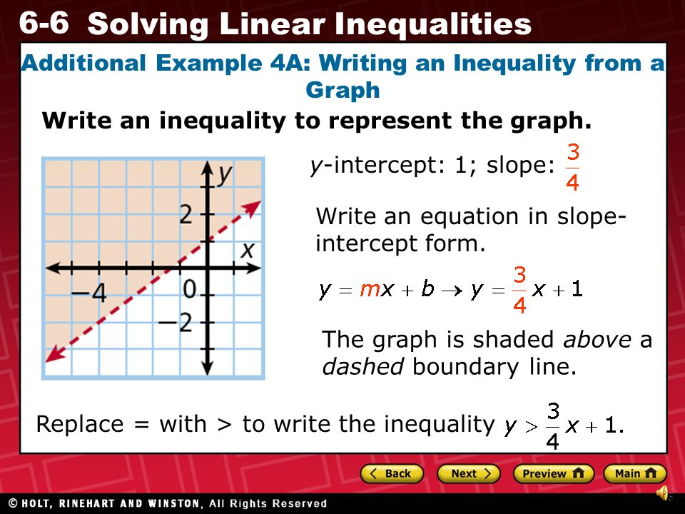 Write an inequality to model the situation and solve this inequality