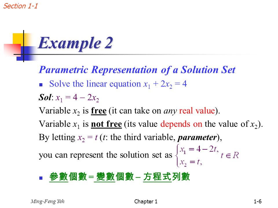 how to find set of solutions