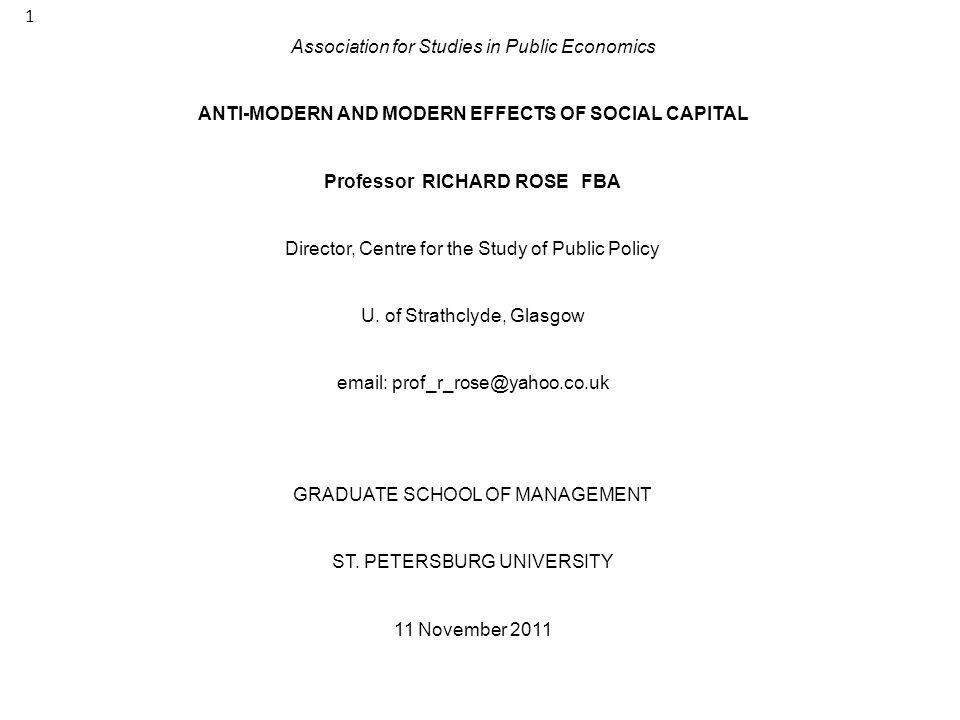 Association for Studies in Public Economics