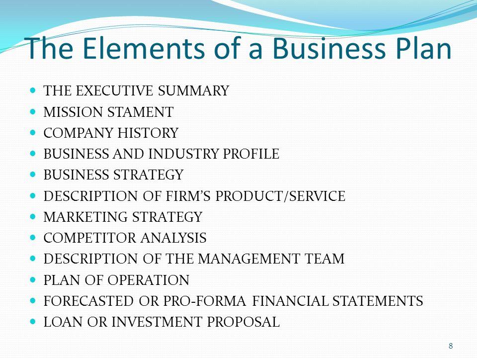 business plan loan