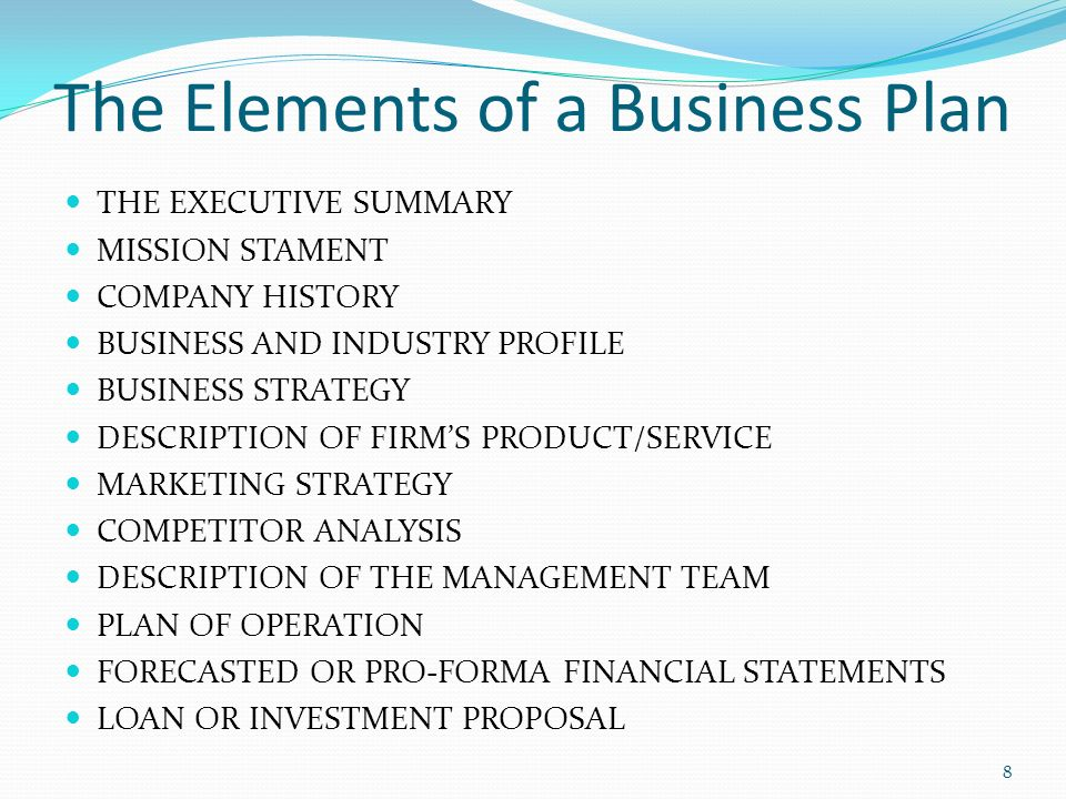 Chapter  Crafting A Winning Business Plan  Ppt Video Online