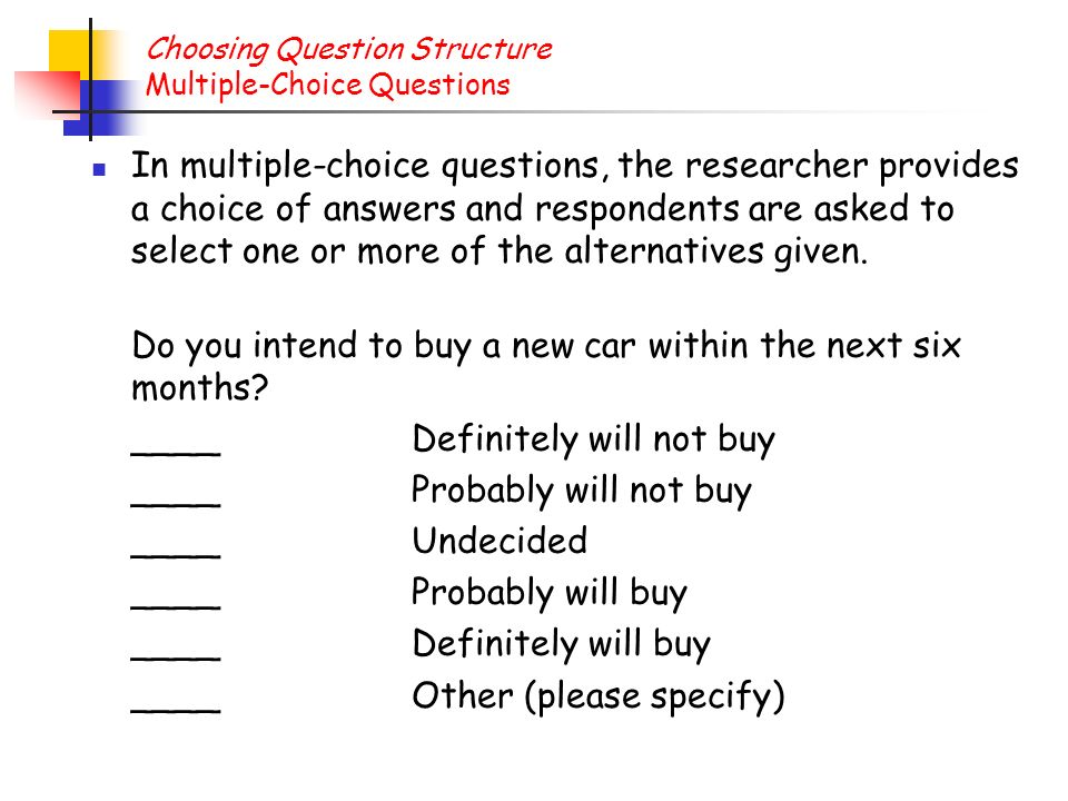 multiple choice questions choose the best Tips for success: mastering multiple-choice tests  time permitting, try writing some multiple-choice test questions  it is best to transfer all responses to.