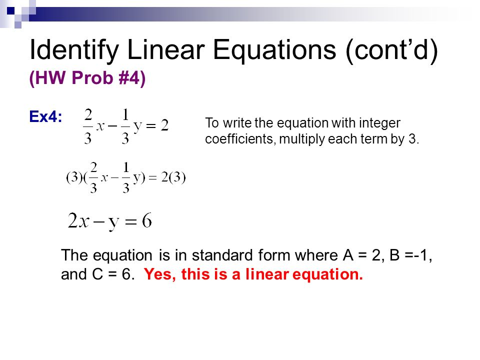 Writing Linear Equations ppt video online download – Writing Linear Equations Worksheet