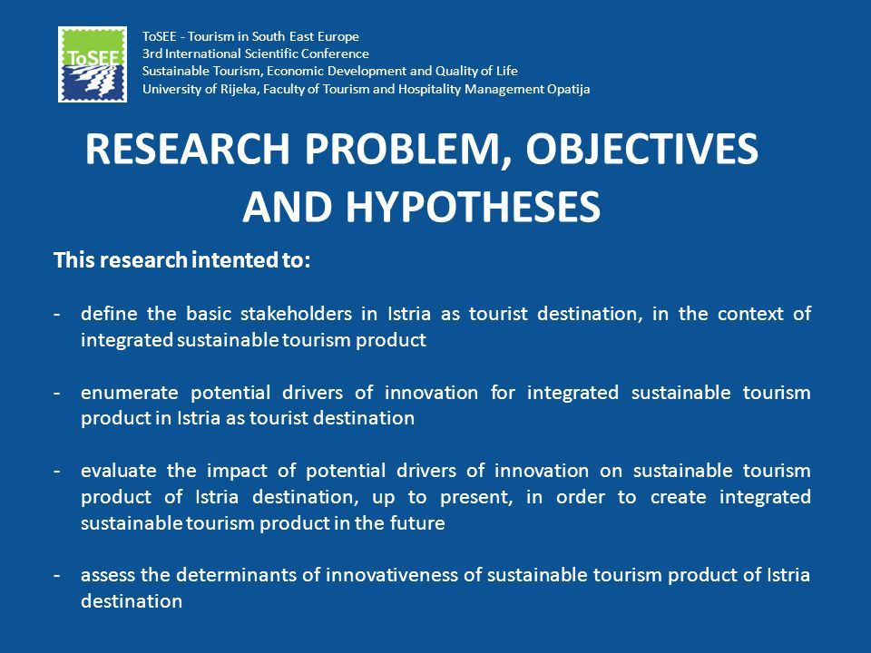 research problem and objectives And objectives lecture 6 1 organization of this lecture research problem & objectives: research and decision/action problems importance of problem specification researchable problem vs problematic situation problem statements use of data objectives developing problem and objective statements 2.