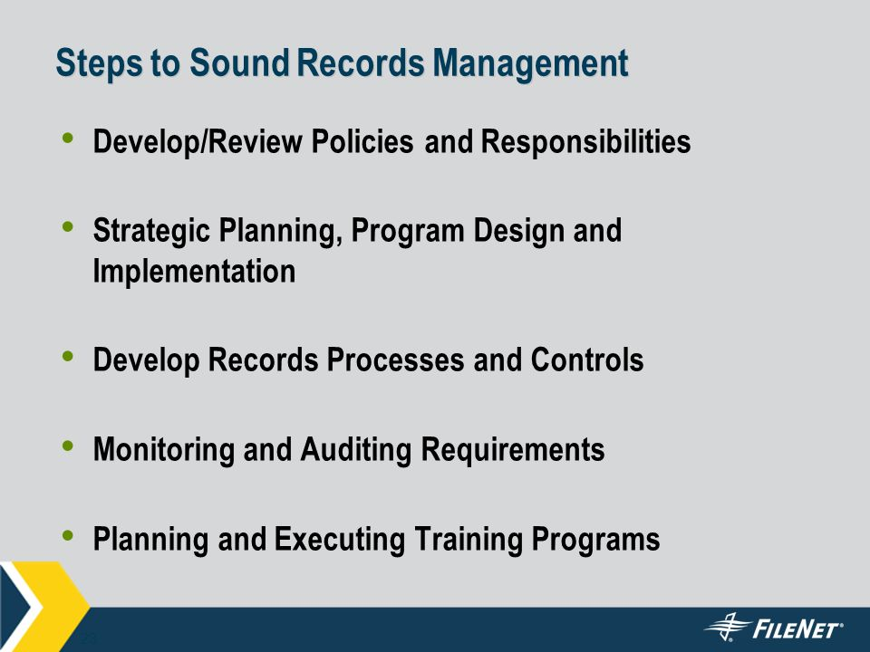 Developing A Standards Based Records Management Program Ppt Video Online Download