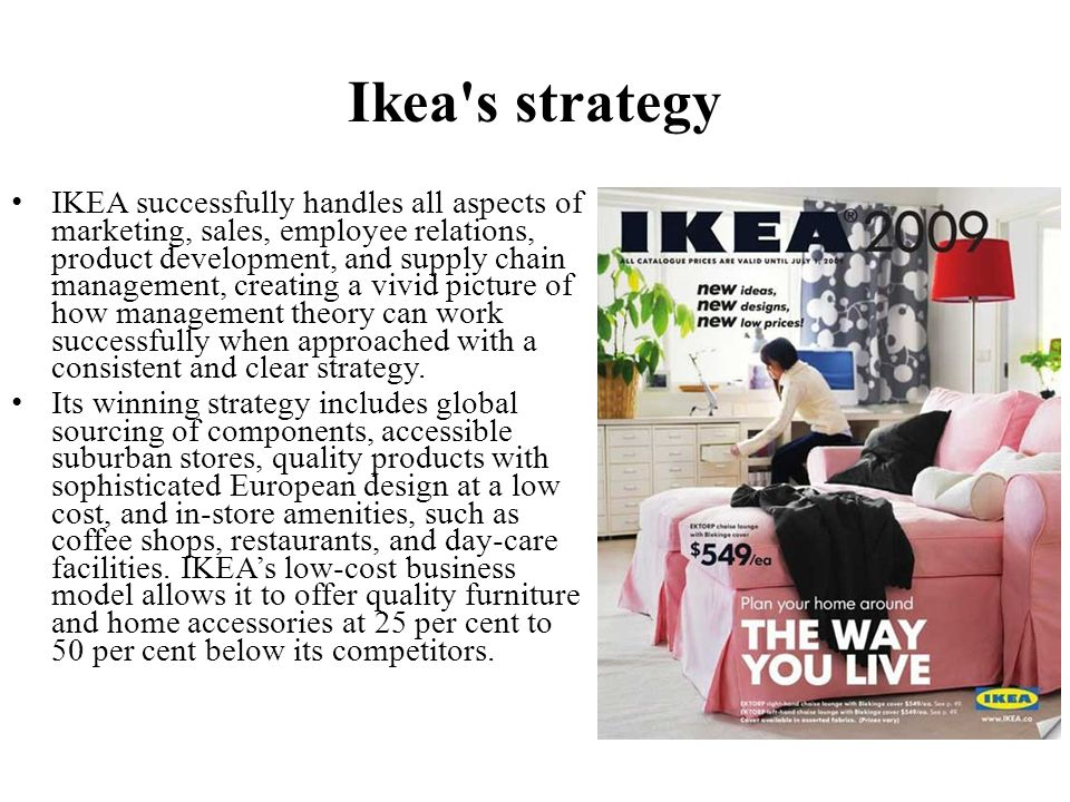 ikea strategies and controls of Operation management & ikea essay assignment is based on operations managements within ikae the aim of this unit is to analyse the operations functions within the organisation by understanding strategic operations management, the operations process and planning and control.