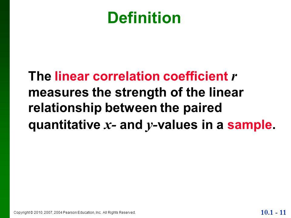 define a linear relationship
