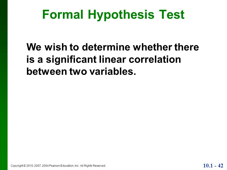 formal hypothesis Formal results: testing the gcp hypothesis a bottom line graph pictures the history of accumulated deviations from expectation the hypothesis registry .