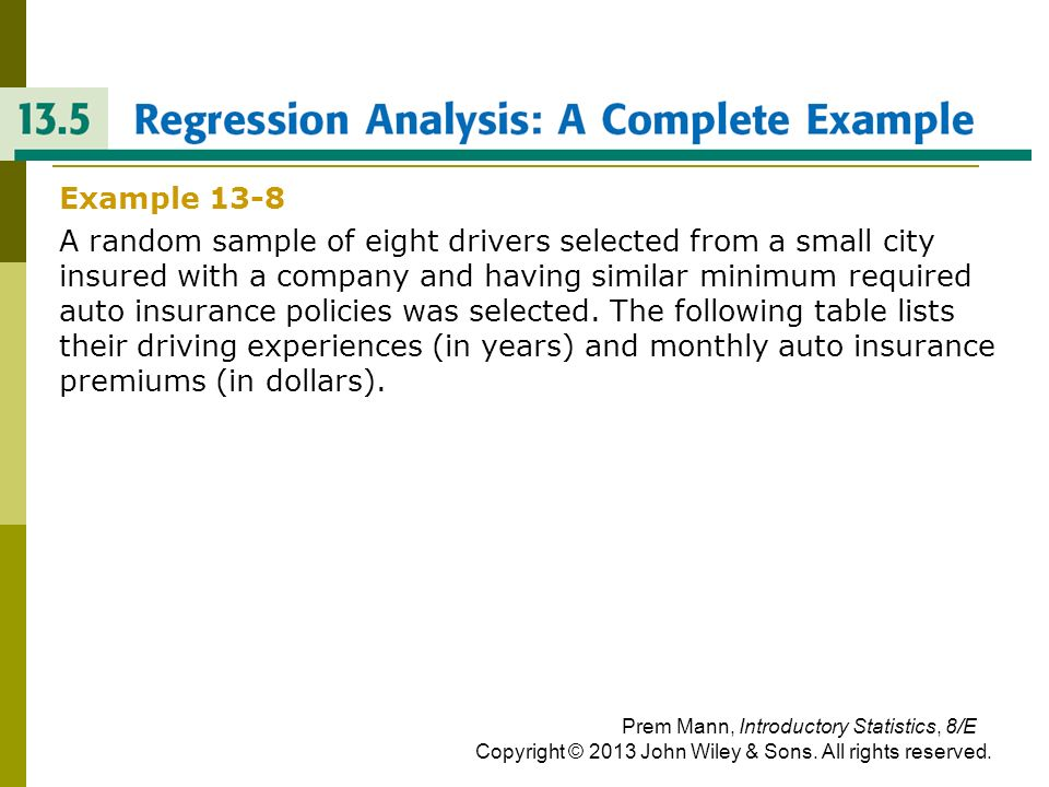 REGRESSION ANALYSIS: A COMPLETE