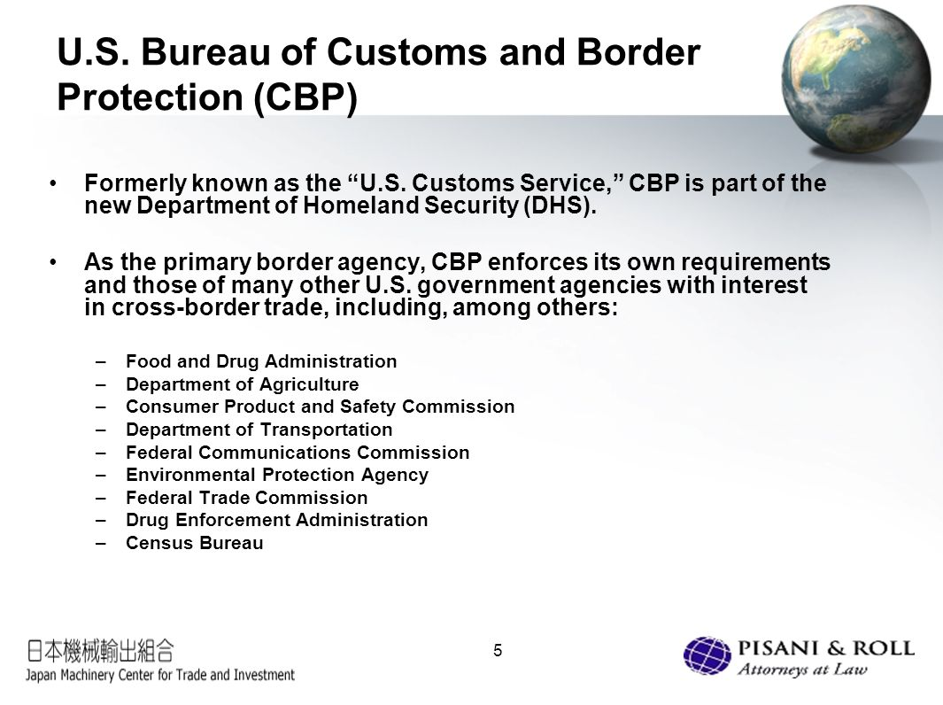 U s customs trade compliance what japanese exporters - Us federal trade commission bureau of consumer protection ...