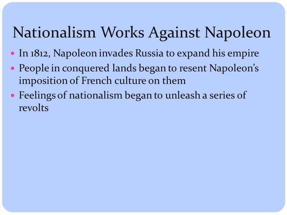 nationalism and napoleon How did nationalism aid napoleon's rise to power in france - 4363276.