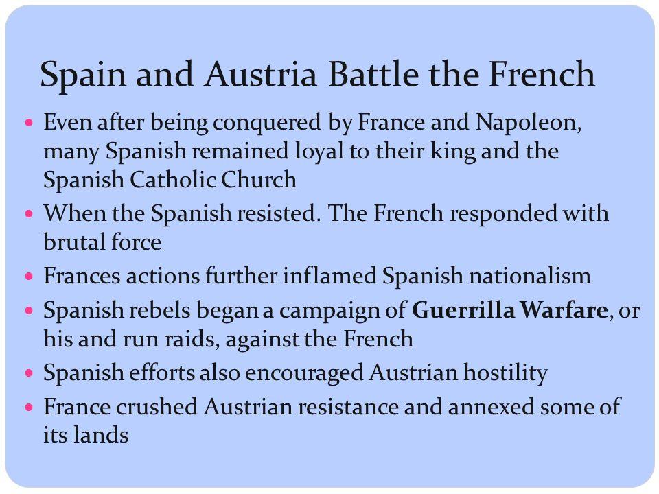 spanish resistance to napoleon essay