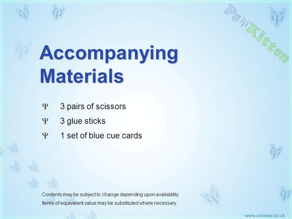 Accompanying Materials