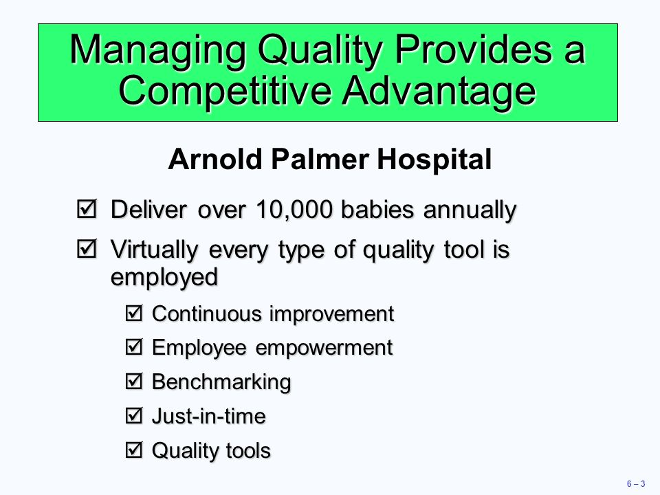 operations management at arnold palmer hospital Answer to operations management the arnold palmer hospital (aph) in orlando, florida, is one of the busiest and most respected hos.