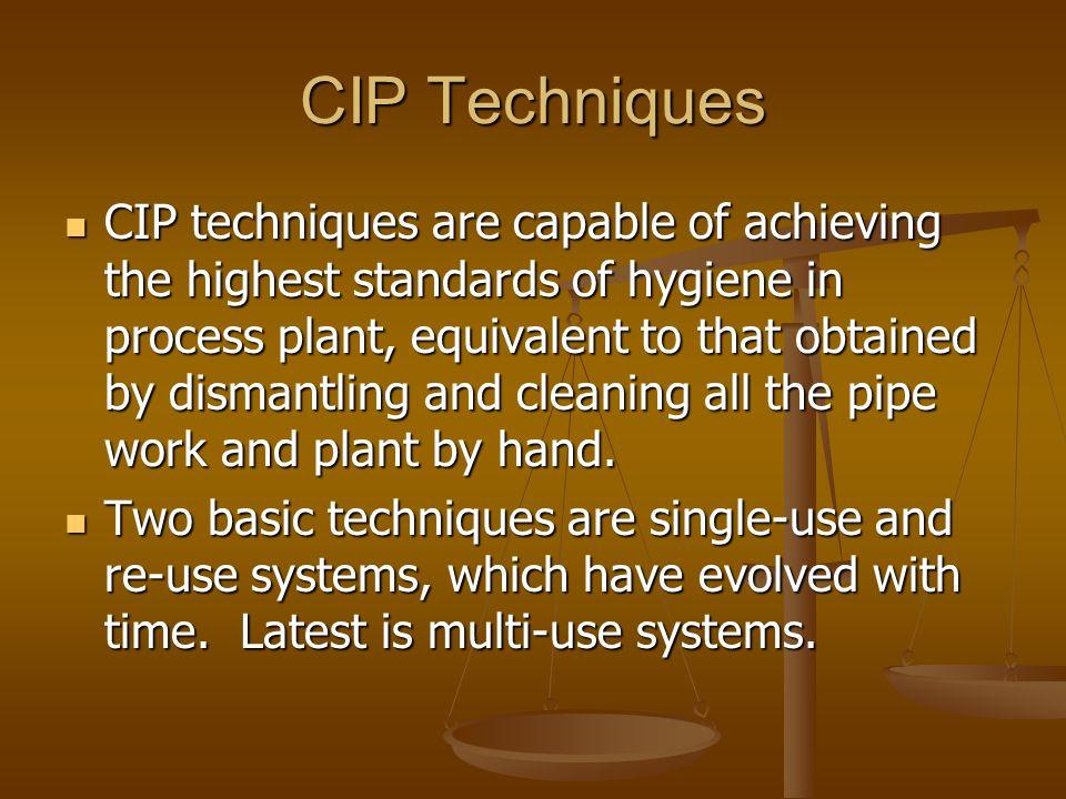 CIP Techniques