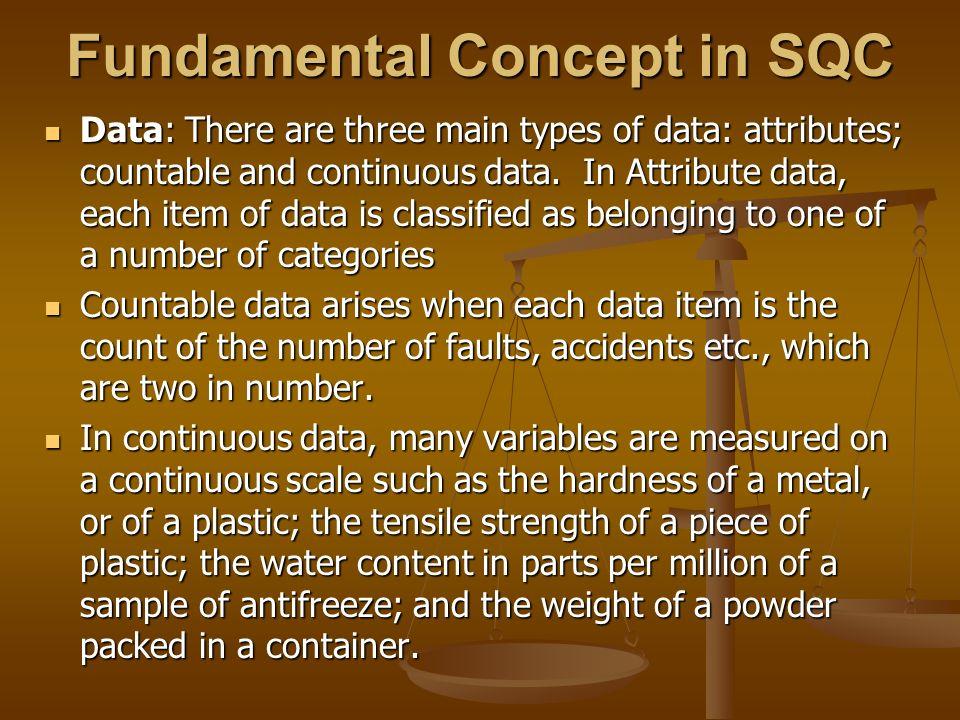 Fundamental Concept in SQC