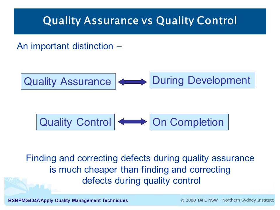 qualiity assurance Revised april 29, 2013 purpose: the quality control review process conducted by esa's office of quality assurance is designed to measure payment accuracy in the federal food assistance and cash programs.