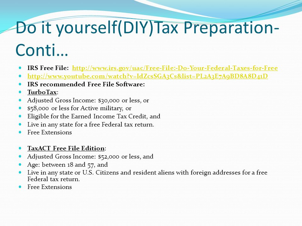 Presented by jacky suncpa tsbpa ppt download do it yourselfdiytax preparation conti solutioingenieria Images
