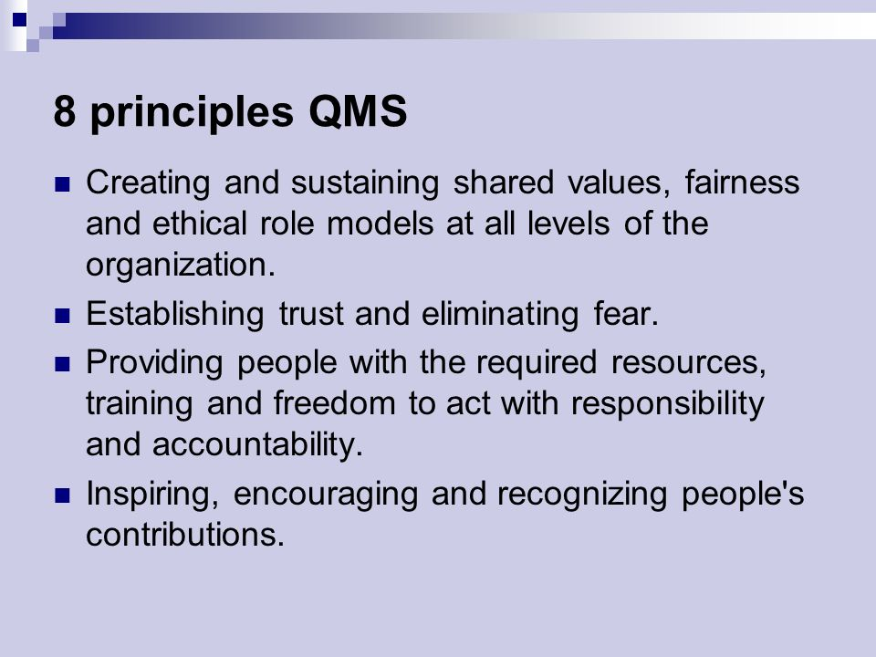 management s role in setting ethical standards Improving ethics quality in health care  environment—one that's conducive to ethical practices and  consistent with widely accepted ethical standards,.