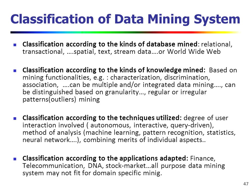 A data mining based financial trading system