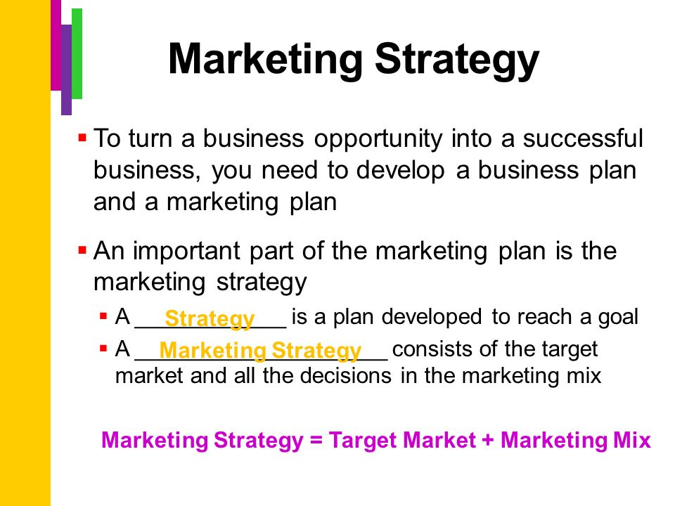 Examples of Target Market Profiles