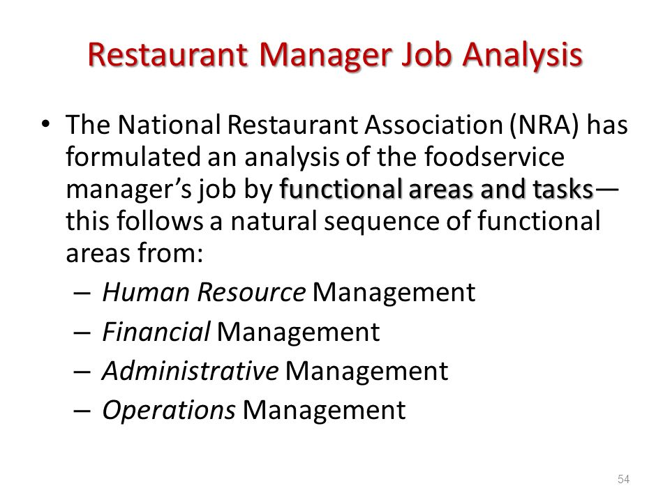The Role & Responsibilities of HR in a Restaurant