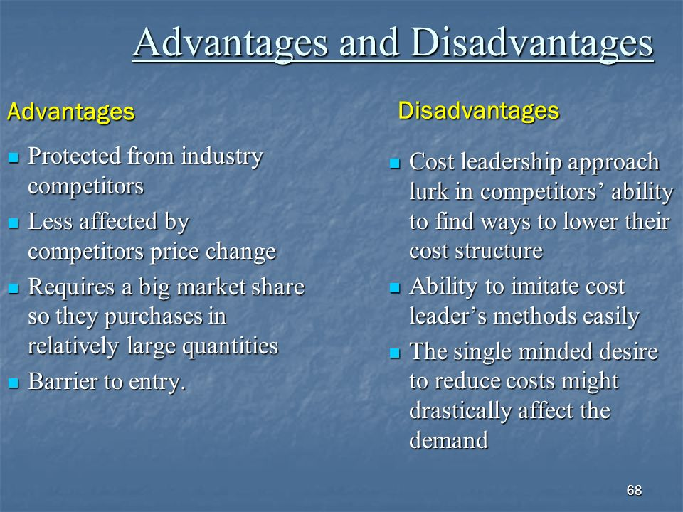 arbitrage pricing theory advantages and disadvantages I will explain some of the advantages and disadvantages of the i would like to start by talking about the two pricing methods and highlight some of their advantages and disadvantages the arbitrage pricing theory both the capital asset pricing model and the arbitrage pricing.