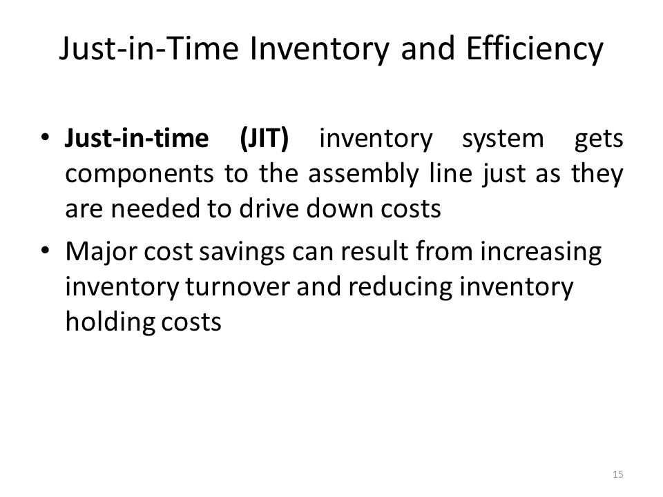 just in time inventory practices essay Essays harley davidson's just-in-time  harley-davidson found that there were three most important practices of japanese companies, which differentiated their .