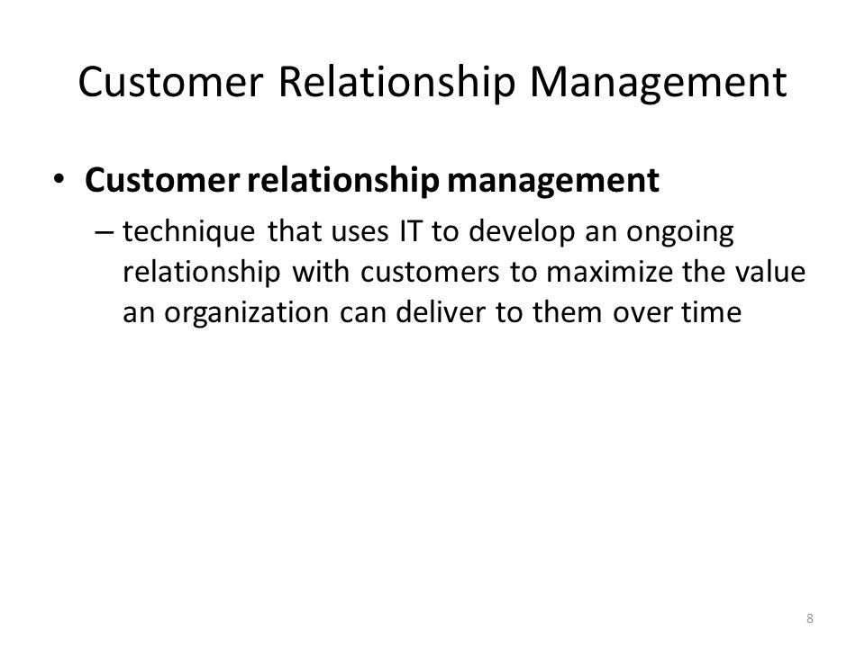 customer relationship management technique of lenovo First, we define crm, describe how marketing thinking about crm has evolved over managing customer relationships 3 3 chapter 1 managing customer relationships ruth n bolton and crina o tarasi abstract the customer relationship management (crm) literature recognizes the long-run value of po.