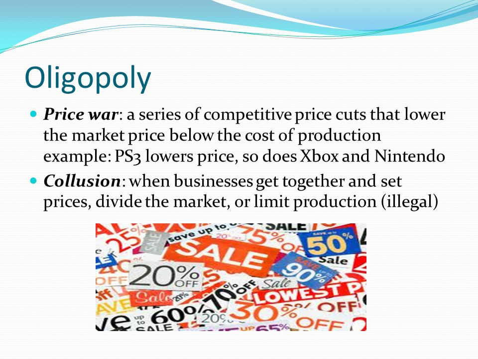 pepsi as an oligopoly market product Oligopoly is of two types- pure oligopoly where the product is same and differentiated oligopoly where the product is different when we talk about soft drink market in india, the two major names which come in our mind are pepsico india and coca cola india ltd.
