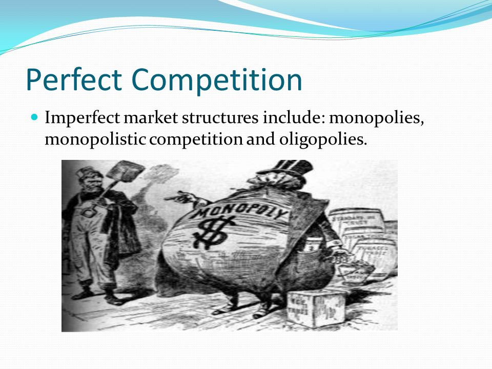 definition of perfect competition market structure