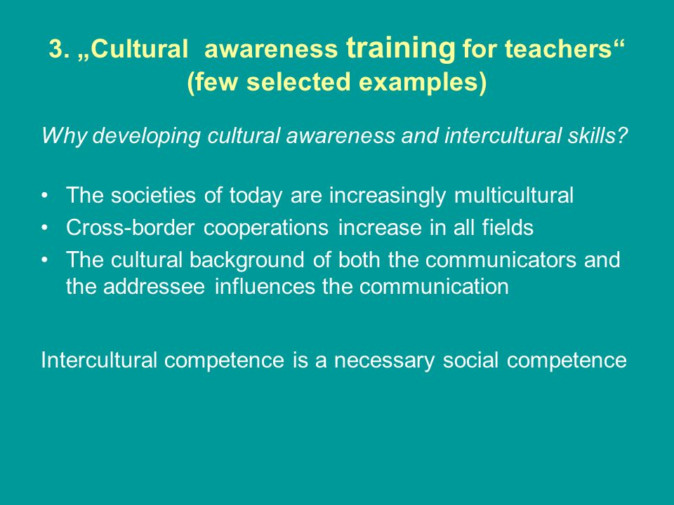 the influences of cross cultural training essay Cultural diversity essay topics cultural diversity is a term given to the variety of ethnic and cultural groups that live in a society together you can rest assured that writing essays on cultural diversity will invariably part of any college course.