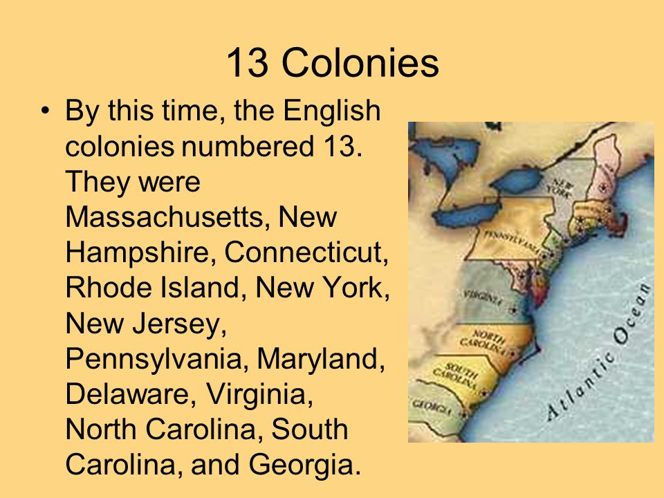 13 colonies lesson plans high school
