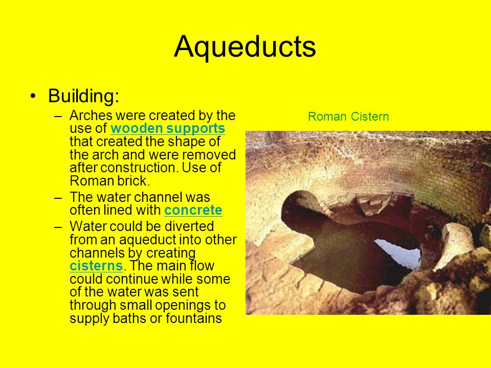 Aqueducts Building: