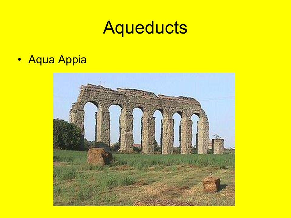 Aqueducts Aqua Appia