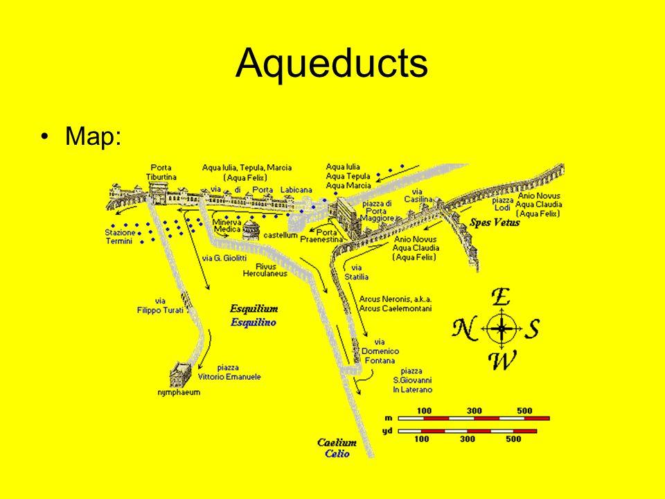 Aqueducts Map: