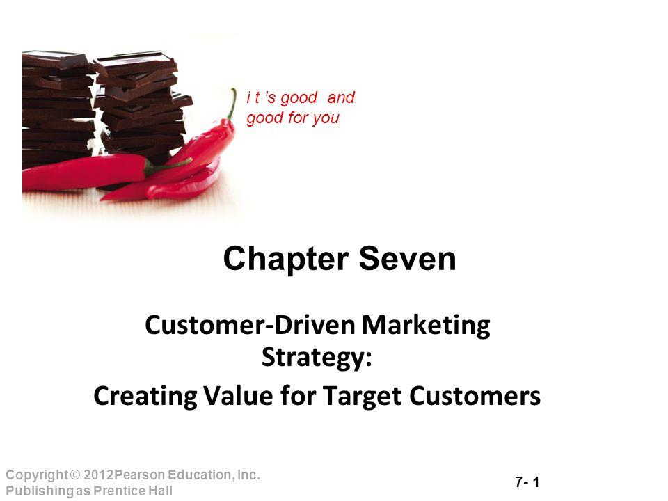 customer driven marketing strategy creating value