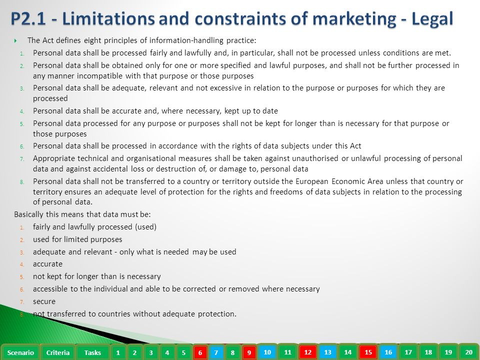 describe the limitations and constraints of Read this essay on p2: describe the limitations and constraints of marketing come browse our large digital warehouse of free sample essays get the knowledge you need in order to pass your classes and more.