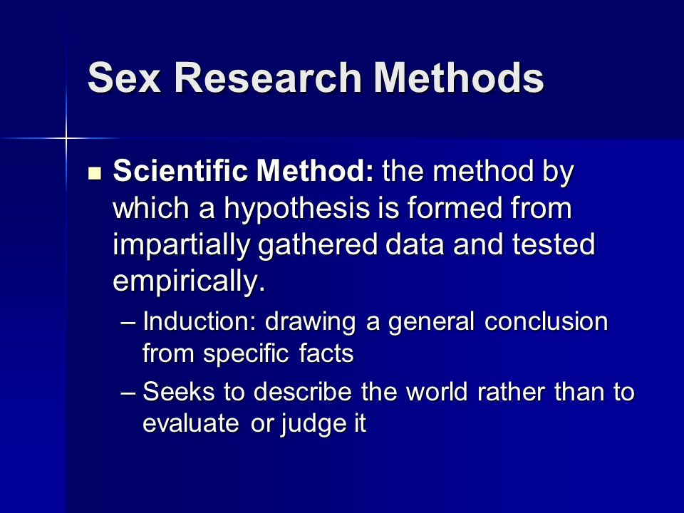 research-about-sex