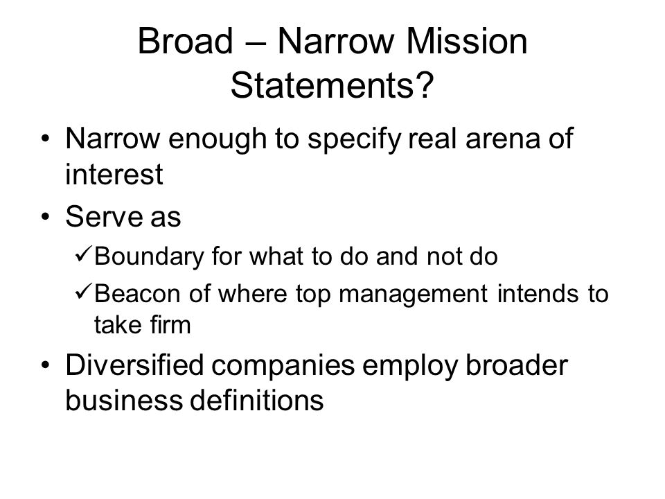 broad and narrow thesis statement This is not an exhaustive list of bad thesis statements the overly broad thesis strategies to narrow a thesis include specifying a method or perspective or delineating certain limits.