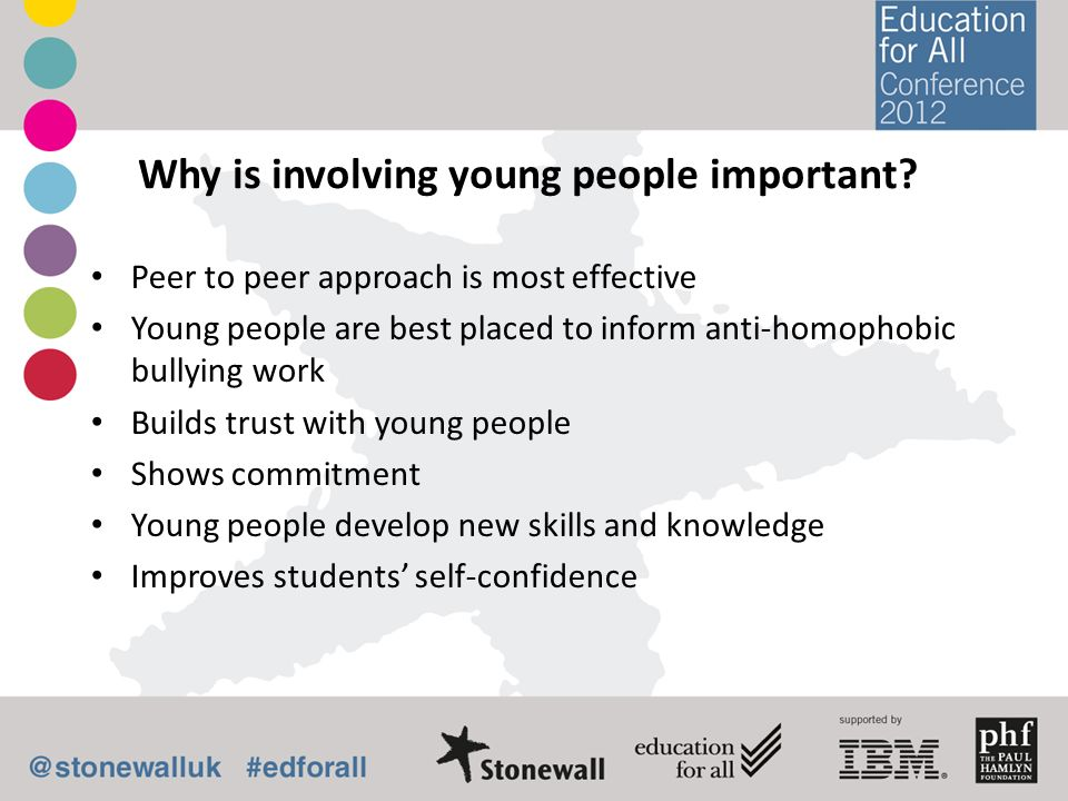 Why is involving young people important